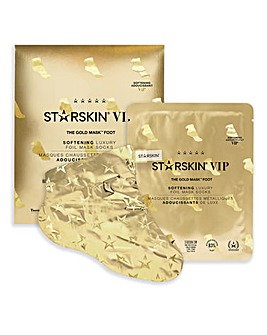 STARSKIN The Gold Softening Foot Mask