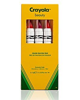 Crayola Crayon Trio - Romantic Reds