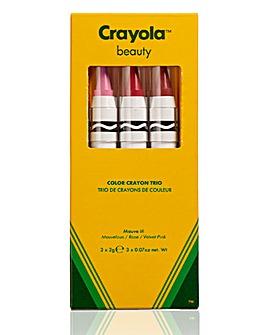 Crayola Crayon Trio - Mauve It!