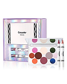 Crayola Warm Glamour Eye and Lip Gift Set