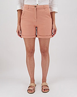 Cotton Rich Stretch Chino Shorts