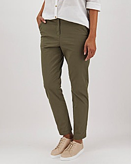 Cotton Rich Stretch Chino Trousers