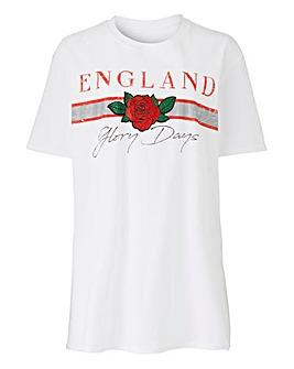 ENGLAND Slogan T-Shirt