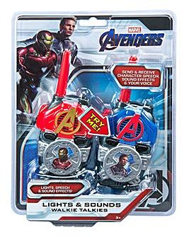 Marvel Avengers Lights & Sounds Walkie Talkies