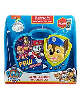 Paw Patrol Sing-Along Boombox