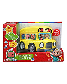 Cocomelon Sing With Me School Bus