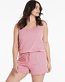 Pretty Secrets Frill Hem Playsuit