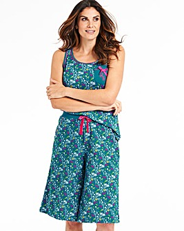 Joe Browns Hare Print Cami Culottes Set