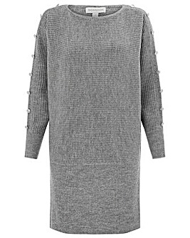 Monsoon Belle Button Detail Dolman Dress