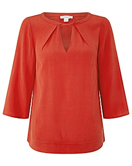 Monsoon Penelope Twist Front Blouse