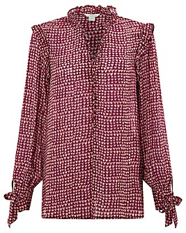 Monsoon Hope Heart Print Blouse