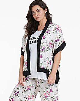 Pretty Secrets Luxury Viscose Kimono