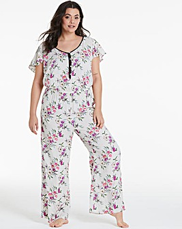 Pretty Secrets Frill Sleeve Jumpsuit