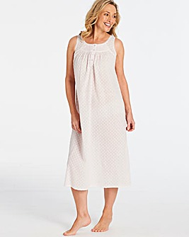 Pretty Secrets Cotton Dobby Nightie