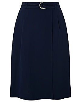Monsoon Clara Contrast Stitch Midi Skirt