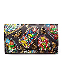 Zelda WindWaker HD Tri-Fold Purse