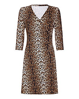 Mela London Curve Wrap Dress
