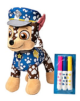 Paw Patrol Doodle Pup Colour Your Plush Chase