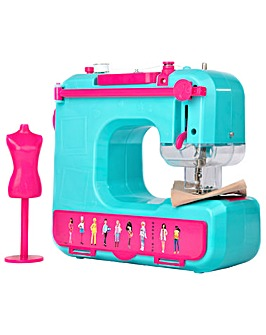 Barbie Sewing Machine With Mannequin