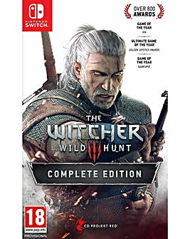 The Witcher 3 Wild Hunt Complete Switch