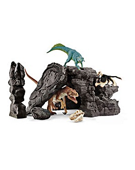 SCHLEICH Dinosaurs Dino Set with Cave