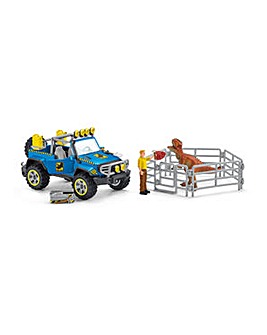 SCHLEICH Dinosaurs Vehicle Playset