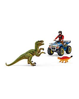 SCHLEICH Dinosaur Quad Bike Playset