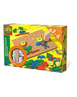 SES Children's Hammer Tap Fantasy Toy