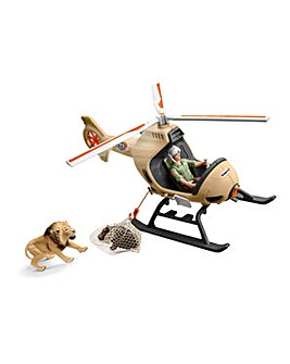 SCHLEICH Rescue Helicopter & Figures