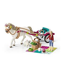 SCHLEICH Horse Club Carriage Playset
