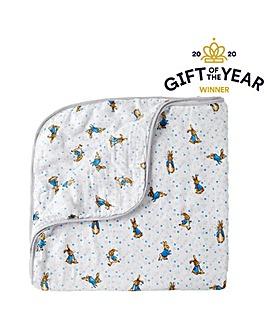 Beatrix Potter Peter Rabbit Blanket