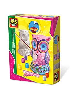 Children's Owl Casting and Painting Set
