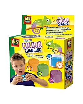 Thermo Colour Change modelling Dough Set