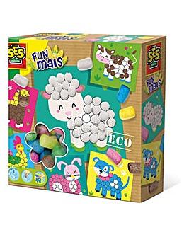 Children's Eco Mosaic Farm Animals Set