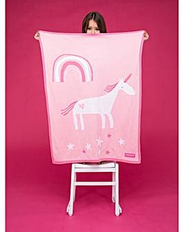 Cosatto Cotton Blanket Unicorn Land