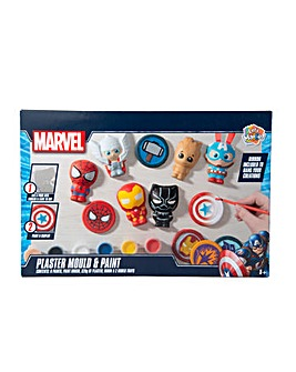 Marvel Plaster Mould And Paint Figures With Signature Accessories