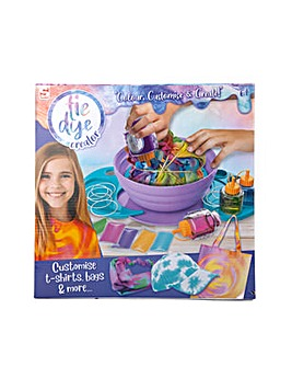 Tie Dye Creation Station - Colour, Customise And Create Your Own T-Shirts, Bags