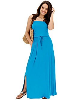 Kingfisher Bandeau Maxi Dress