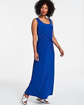 Cobalt Vest Maxi Dress