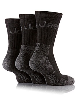 3 Pair Jeep Luxury Terrain Socks