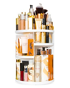 Rio Cosmetic & Brush Storage Carousel