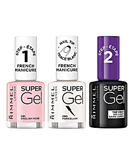Rimmel French Manicure Trio & Free Gift