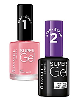 Super Gel Polish Duo -A Wing & Free Gift