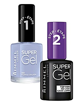 Super Gel Polish Duo - Purple Splash