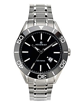 Accurist Gents Ceramic Bezel Watch