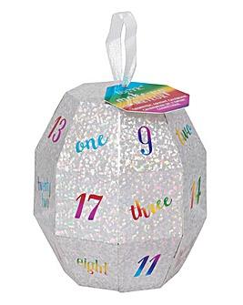 Meteor Glitter Ball Advent Calendar