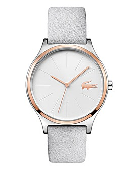 Lacoste Ladies Nikita Leather Strap Watch
