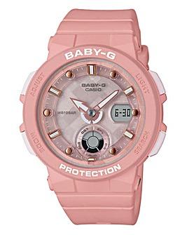 Baby G Ladies Pink Watch