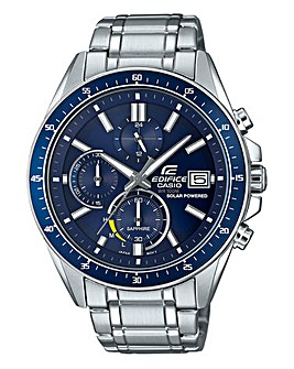 Edifice Gents Chronograph Bracelet Watch
