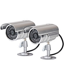 Proper Metal Fake Security Camera Kit